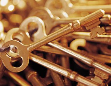 Gold-skeleton-keys